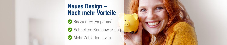 Neues Design versandapo.de Noch mehr Vorteile in Ihrer Online-Apotheke
