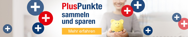 PlusPunkte Bonusprogramm PlusPunkte sammeln und sparen