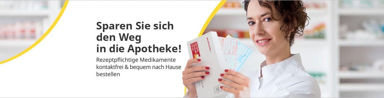 Rezepte bei versandapo.de einlösen!