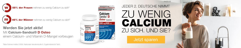 Jetzt Calcium günstig online kaufen!