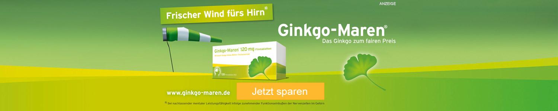 Jetzt Gingko-Maren-Produkte günstig online kaufen!