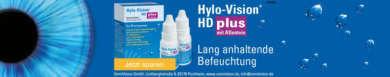 Jetzt Hylo-vision HD plus Augentropfen günstig online kaufen!