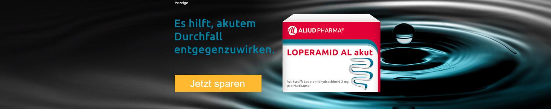 Jetzt Loperamid AL akut günstig online kaufen!