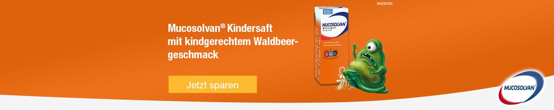 Jetzt Mucosolvan Kindersaft günstig online kaufen!