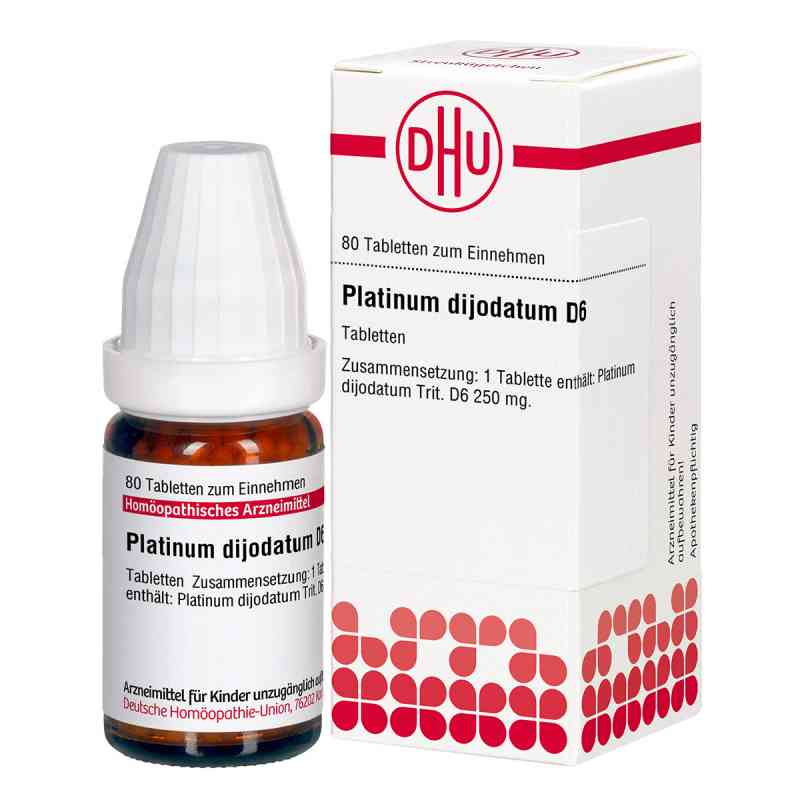 Platinum Dijodatum D6 Tabletten  bei versandapo.de bestellen