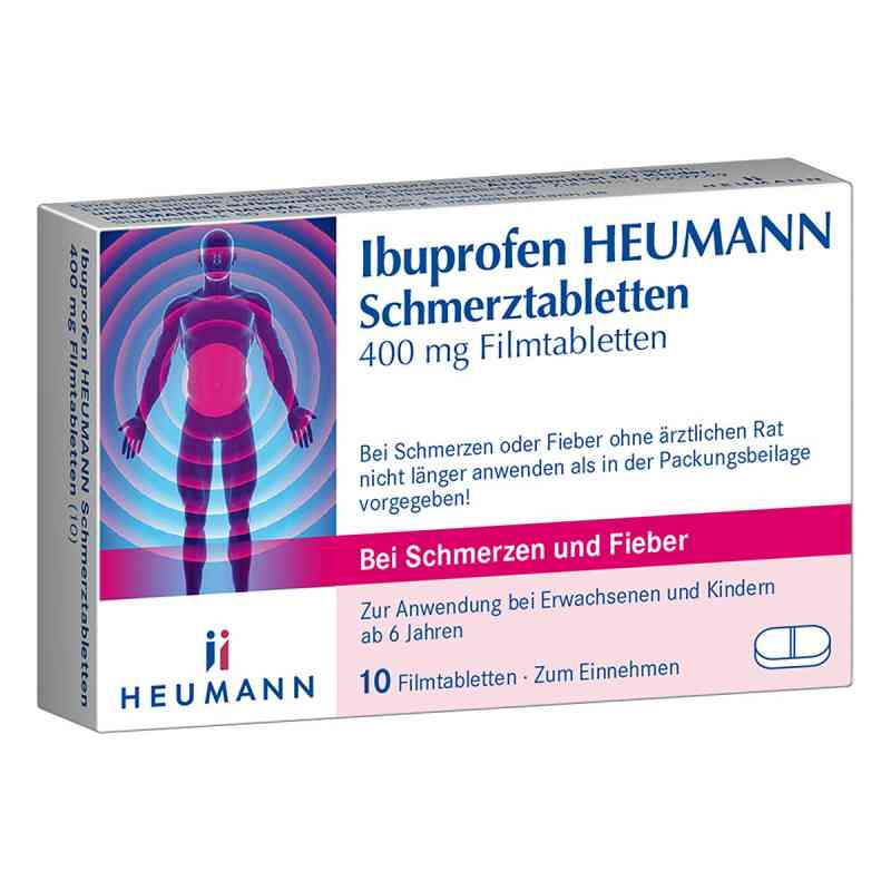 Ibuprofen Heumann Schmerztabletten 400mg  bei versandapo.de bestellen