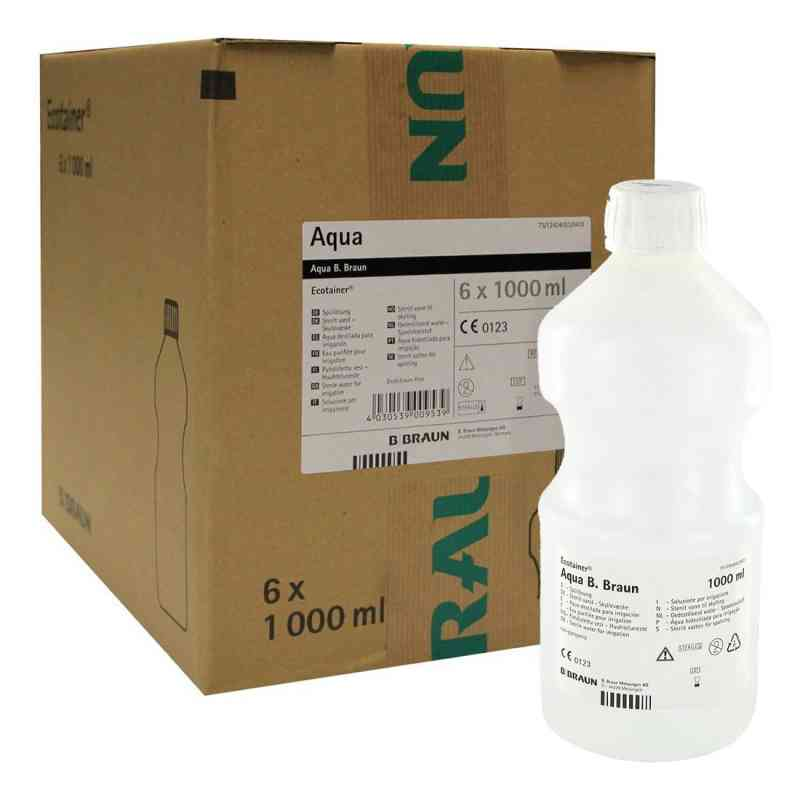 Aqua B.braun Spüllösung Kunststoff Flasche  bei versandapo.de bestellen