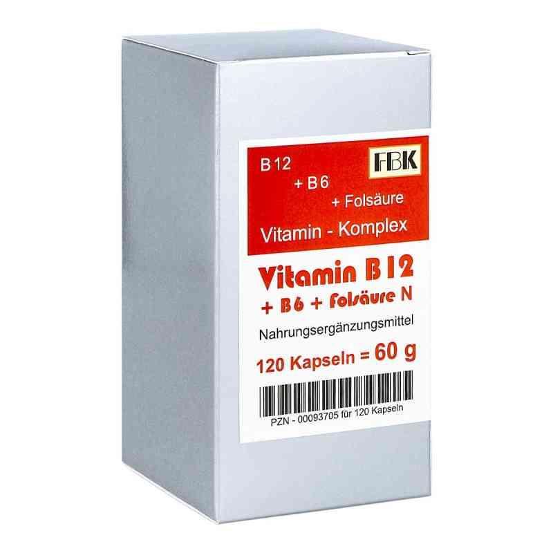 Vitamin B12 + B6 + Folsäure Komplex N Kapseln  bei versandapo.de bestellen