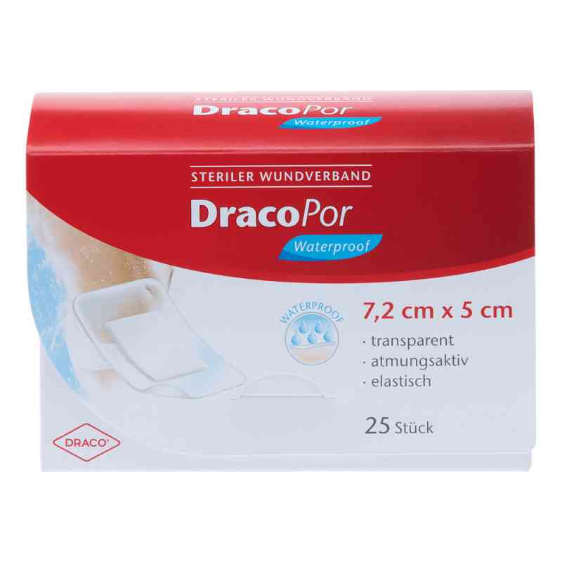 Dracopor waterproof Wundverband steril 5x7,2cm  bei versandapo.de bestellen