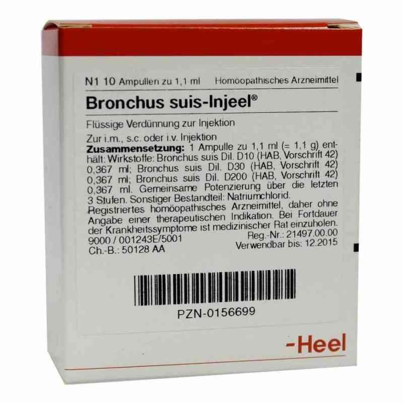Bronchus suis Injeel Ampullen  bei versandapo.de bestellen