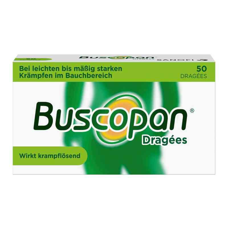 Buscopan Dragées bei leichten bis moderaten Bauchkrämpfen  bei versandapo.de bestellen