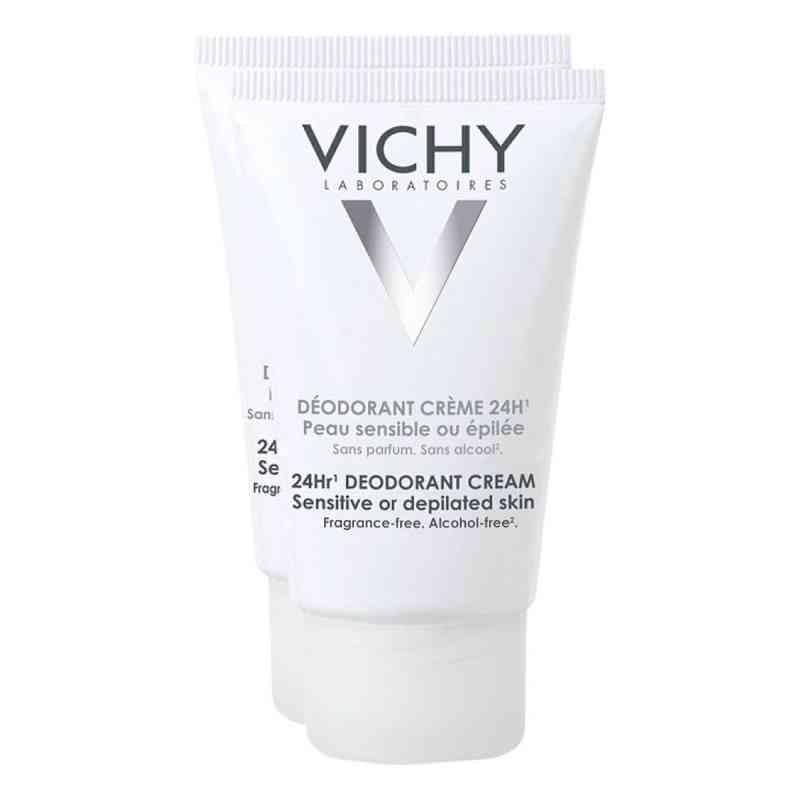Vichy Deo Creme für empfindliche Haut Doppelpack  bei versandapo.de bestellen