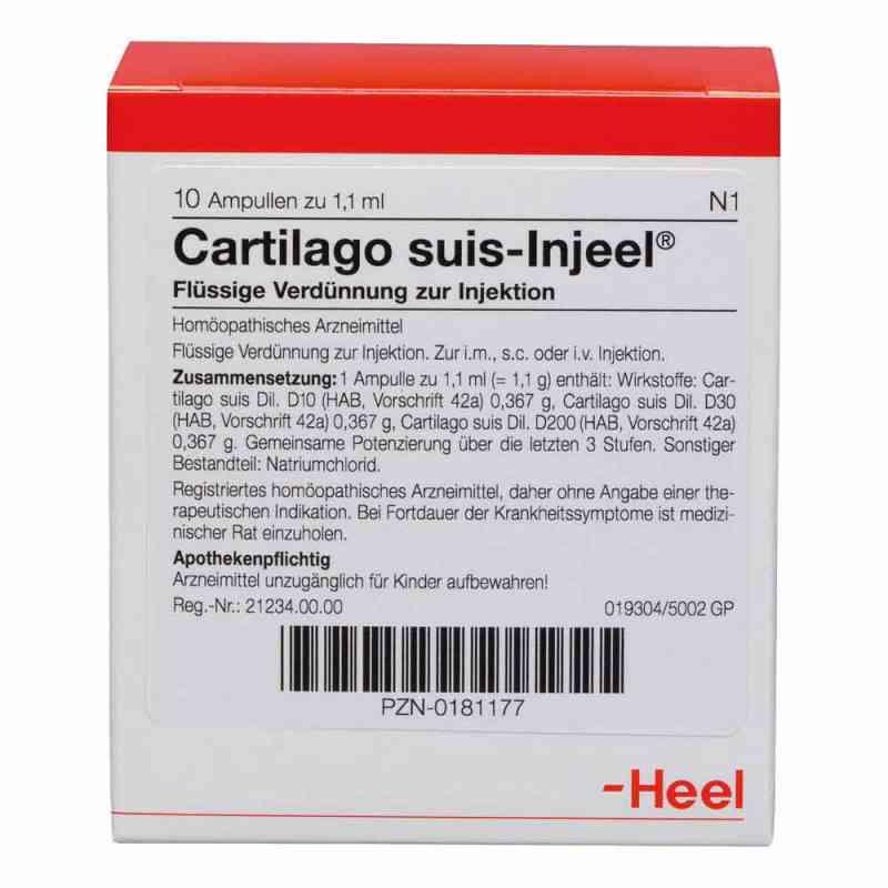 Cartilago suis Injeel Ampullen  bei versandapo.de bestellen