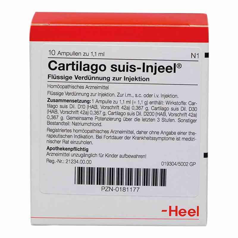 Cartilago suis Injeel forte Ampullen  bei versandapo.de bestellen