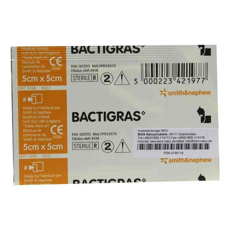 Bactigras Paraffingaze 5x5cm  bei versandapo.de bestellen