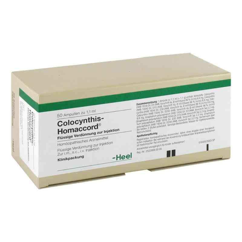 Colocynthis Homaccord Ampullen  bei versandapo.de bestellen