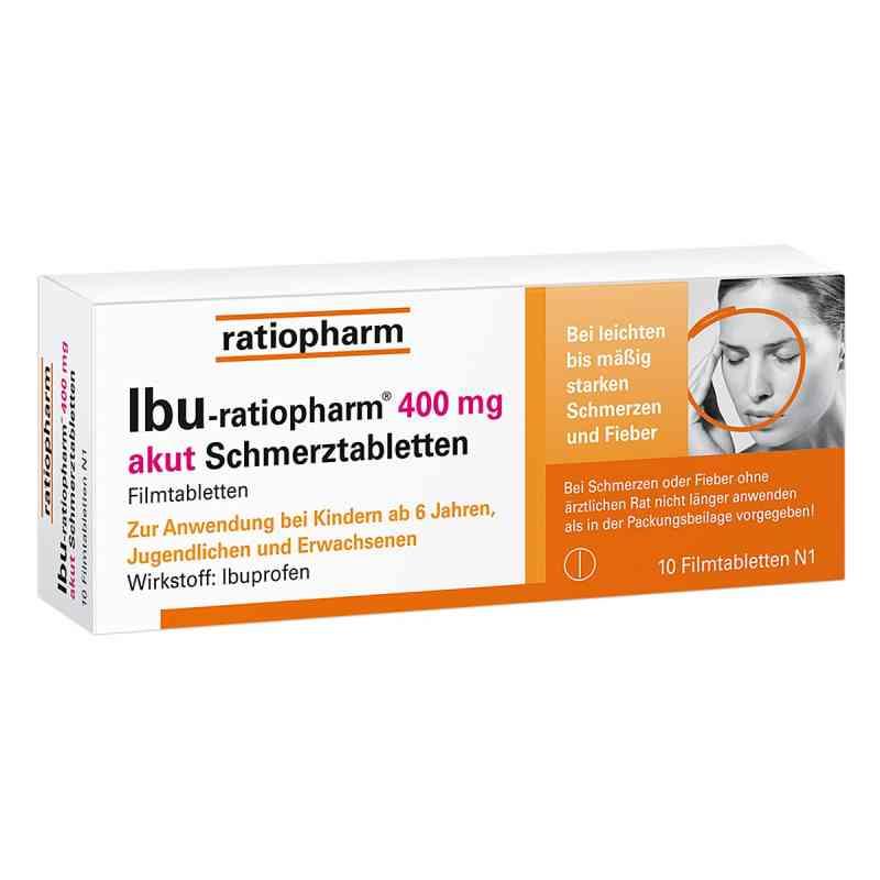 IBU-ratiopharm 400 akut Schmerztabletten  bei versandapo.de bestellen