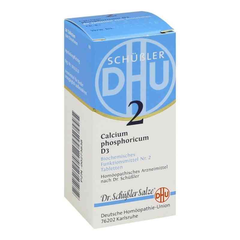 Biochemie Dhu 2 Calcium phosphorus D  3 Tabletten  bei versandapo.de bestellen