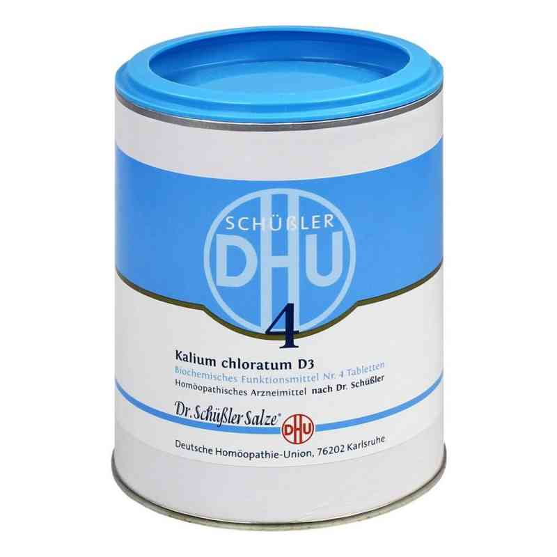 Biochemie Dhu 4 Kalium chlorat. D3 Tabletten  bei versandapo.de bestellen