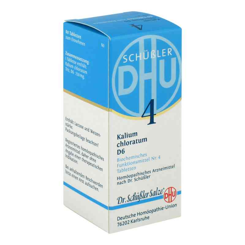 Biochemie Dhu 4 Kalium chlorat. D 6 Tabletten  bei versandapo.de bestellen