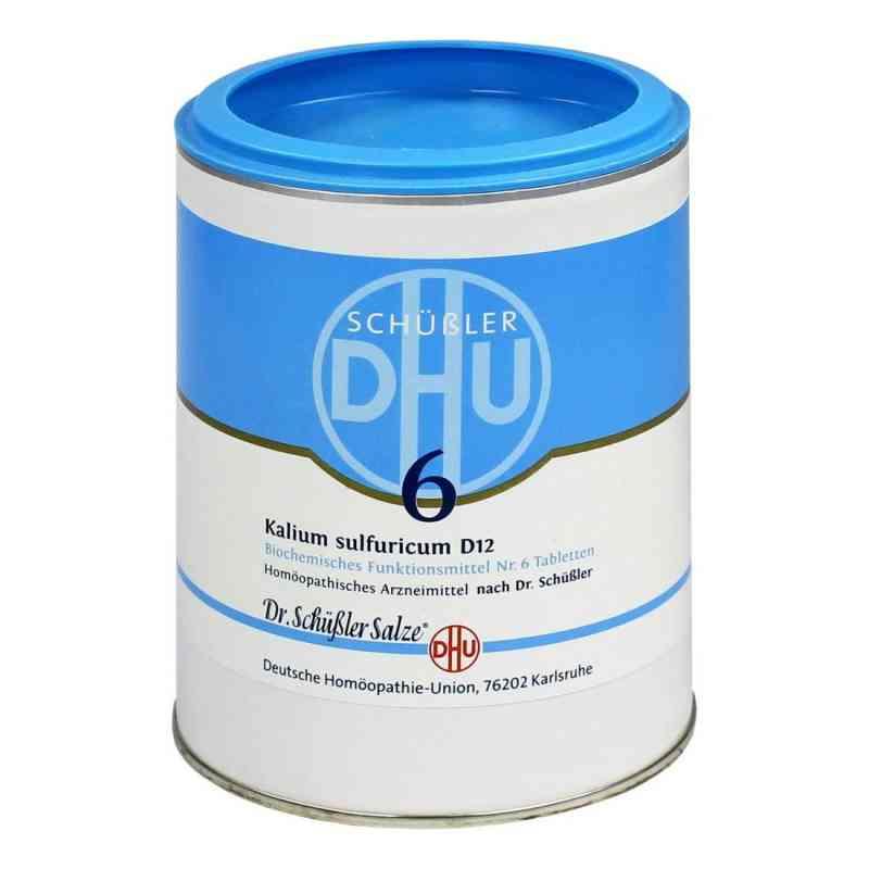 Biochemie Dhu 6 Kalium Sulfur D  12 Tabletten  bei versandapo.de bestellen
