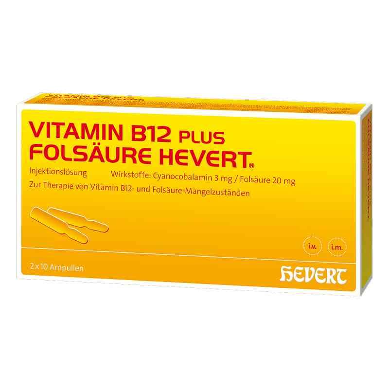 Vitamin B12 Folsäure Hevert Ampullen -paare  bei versandapo.de bestellen