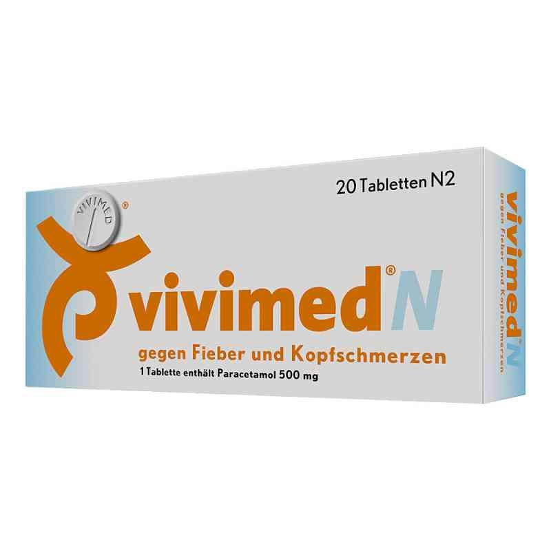 Vivimed N gegen Fieber und Kopfschmerzen  bei versandapo.de bestellen