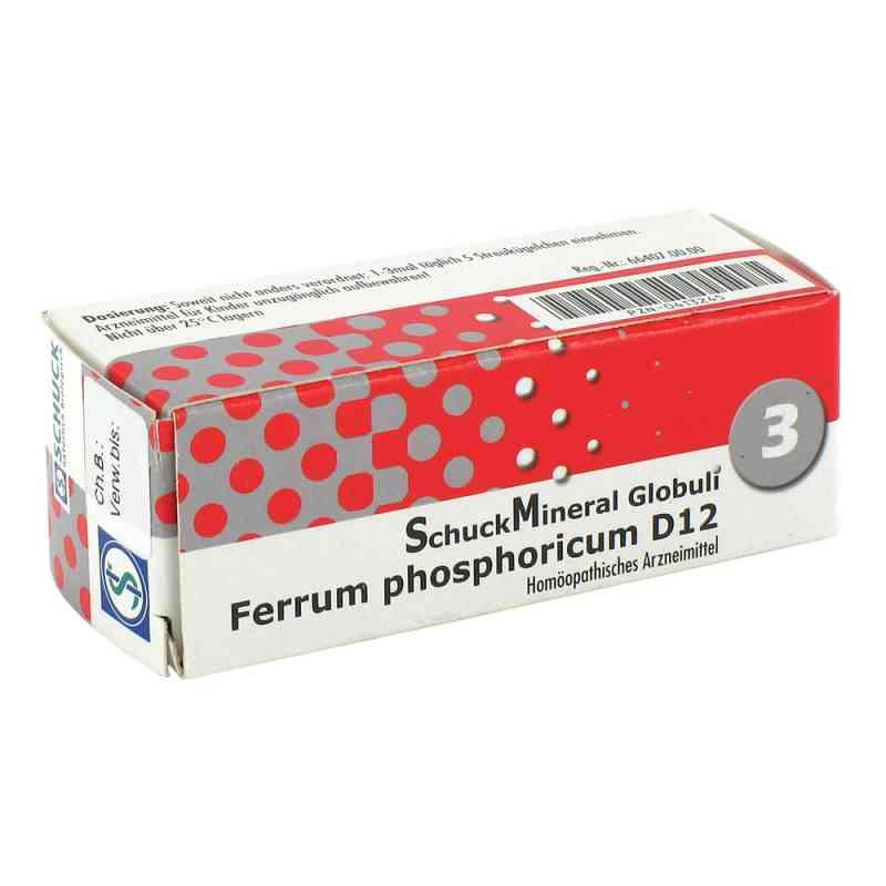 Schuckmineral Globuli 3 Ferrum phosphoricum D12  bei versandapo.de bestellen