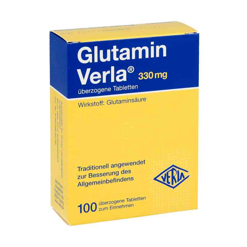 Glutamin Verla überzogene Tabletten  bei versandapo.de bestellen