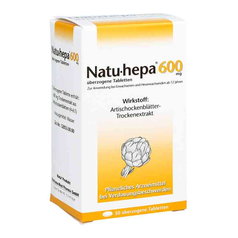 Natu-hepa 600mg  bei versandapo.de bestellen