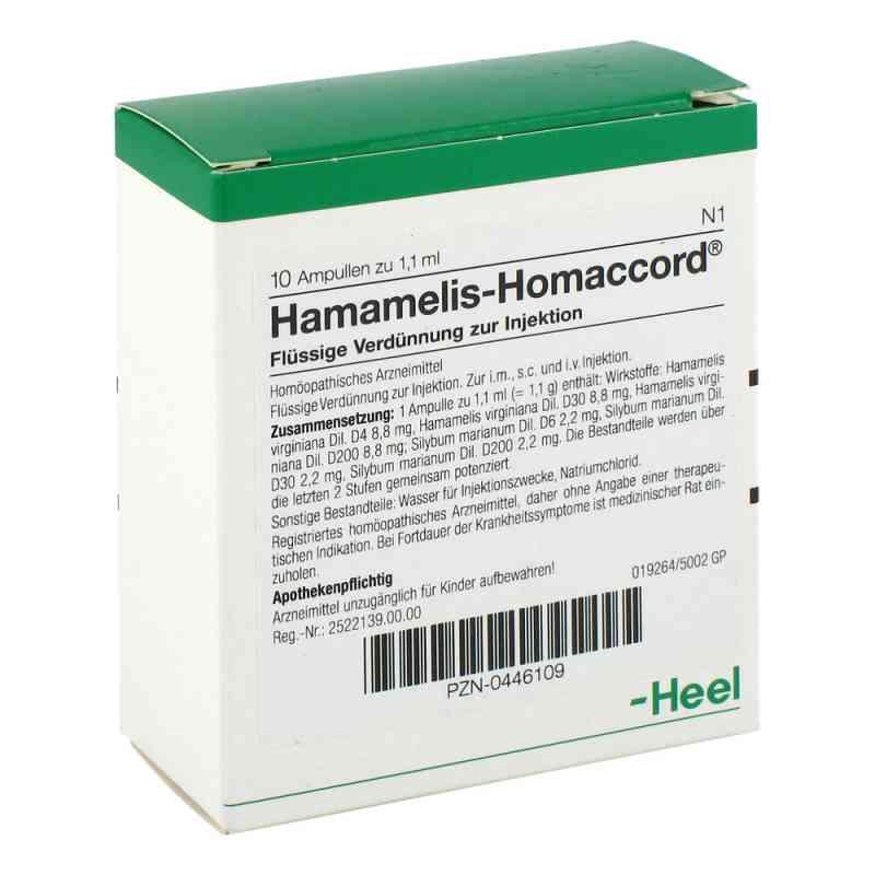 Hamamelis Homaccord Ampullen  bei versandapo.de bestellen