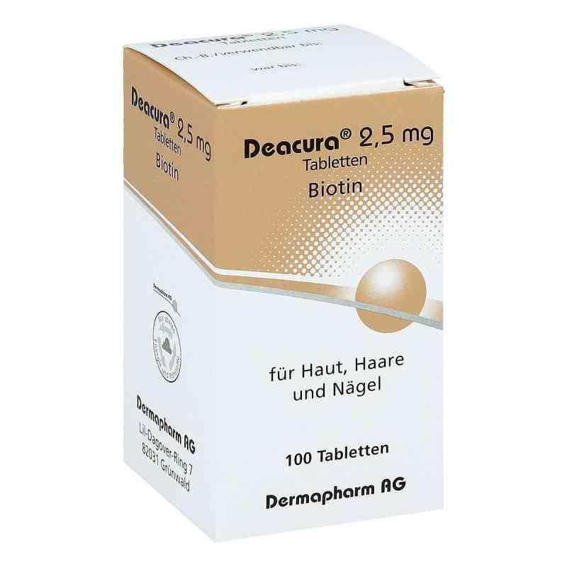 Deacura 2,5 mg Tabletten  bei versandapo.de bestellen