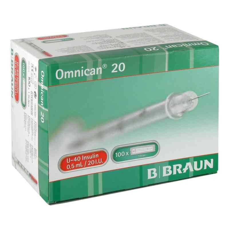 Omnican 20 0,5ml Ins.spr.u-40 0,30x8mm einzelv.  bei versandapo.de bestellen