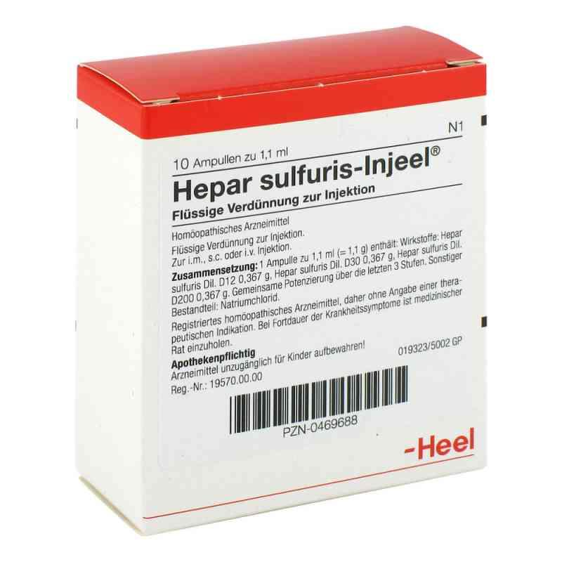 Hepar Sulfuris Injeel Ampullen  bei versandapo.de bestellen