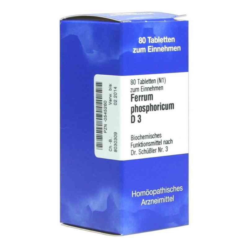 Biochemie 3 Ferrum phosphoricum D 3 Tabletten  bei versandapo.de bestellen