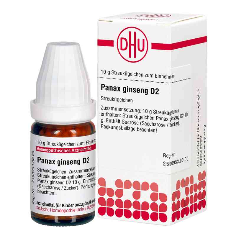 Panax Ginseng D 2 Globuli  bei versandapo.de bestellen