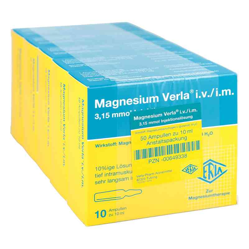 Magnesium Verla intravenös /i.m. Injektionslösung  bei versandapo.de bestellen