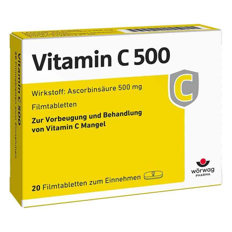 Vitamin C 500 Filmtabletten  bei versandapo.de bestellen
