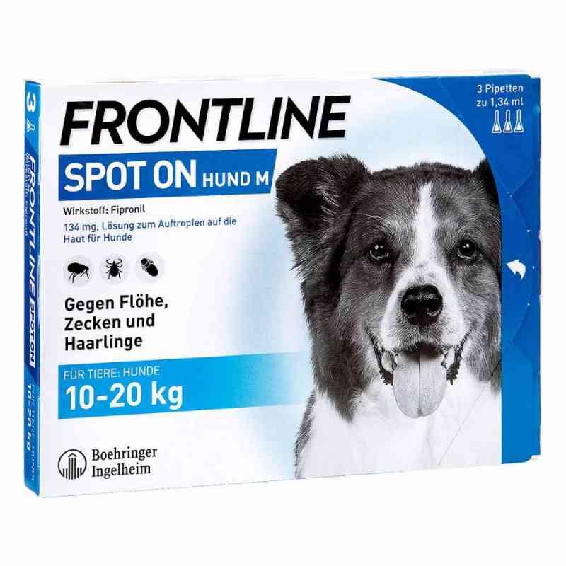 Frontline Spot on Hund 20 veterinär Lösung gegen Floh und Zecke  bei versandapo.de bestellen