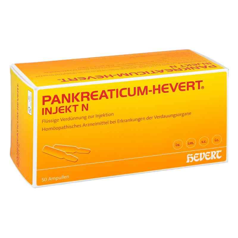 Pankreaticum Hevert injekt N Ampullen  bei versandapo.de bestellen