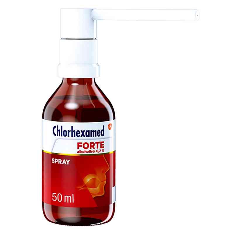 Chlorhexamed FORTE alkoholfrei 0,2%, Anwendung als Spray  bei versandapo.de bestellen