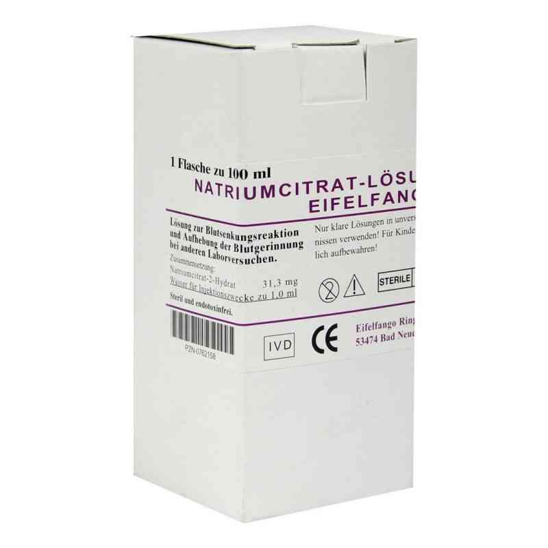 Natriumcitrat-lösung 3,13% Eifelfango  bei versandapo.de bestellen