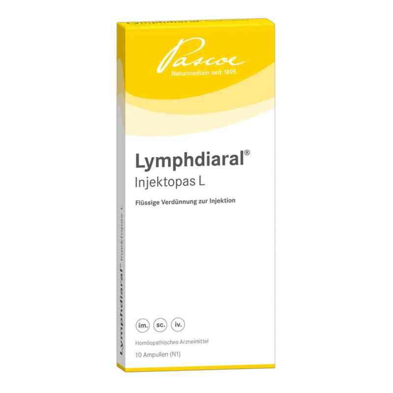 Lymphdiaral Injektopas L Ampullen  bei versandapo.de bestellen