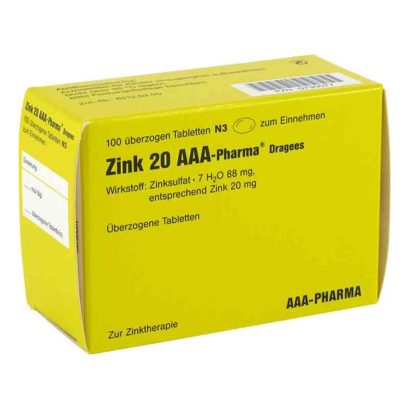 Zink 20 AAA-Pharma  bei versandapo.de bestellen