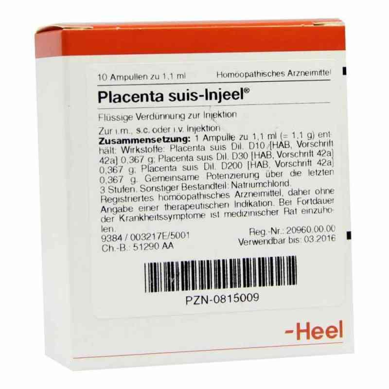Placenta Suis Injeel Ampullen  bei versandapo.de bestellen