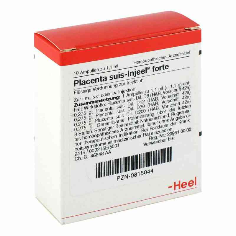 Placenta Suis Injeel forte Ampullen  bei versandapo.de bestellen