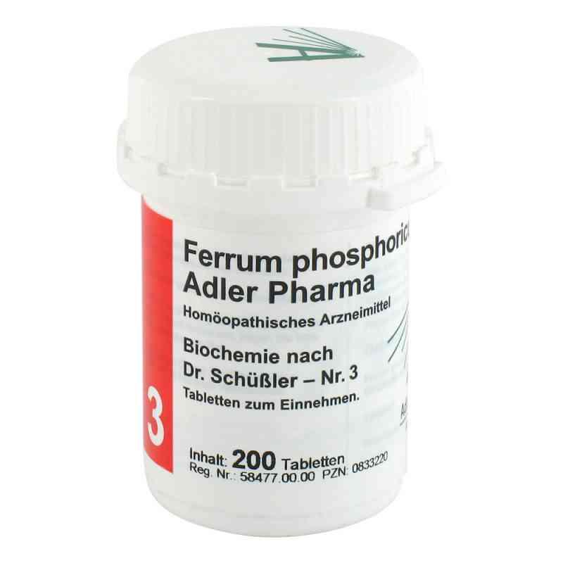 Biochemie Adler 3 Ferrum phosphoricum D 12 Adl.p. Tabletten   bei versandapo.de bestellen
