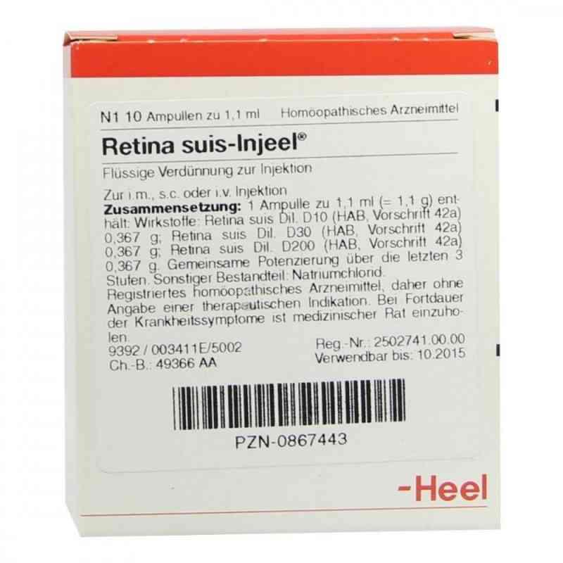 Retina Suis Injeel Ampullen  bei versandapo.de bestellen