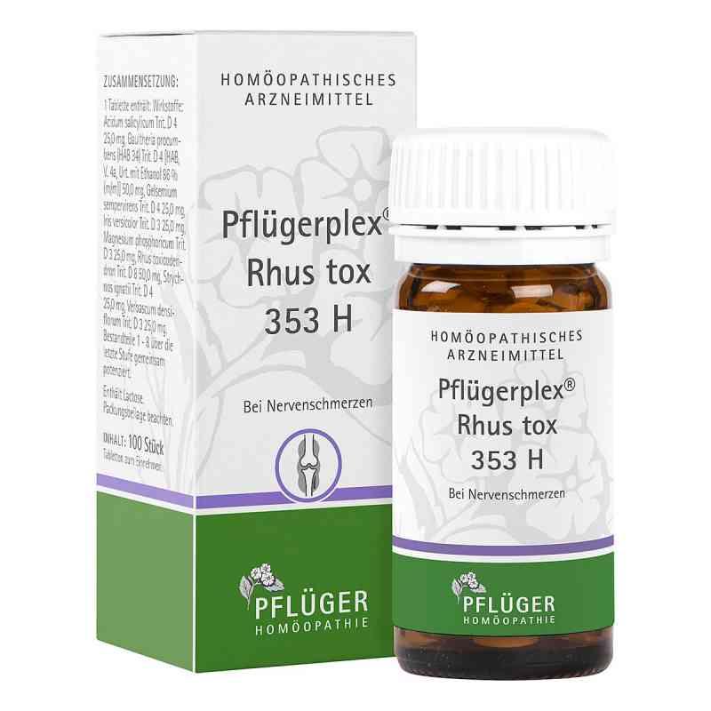 Pflügerplex Rhus tox. 353 H Tabletten  bei versandapo.de bestellen