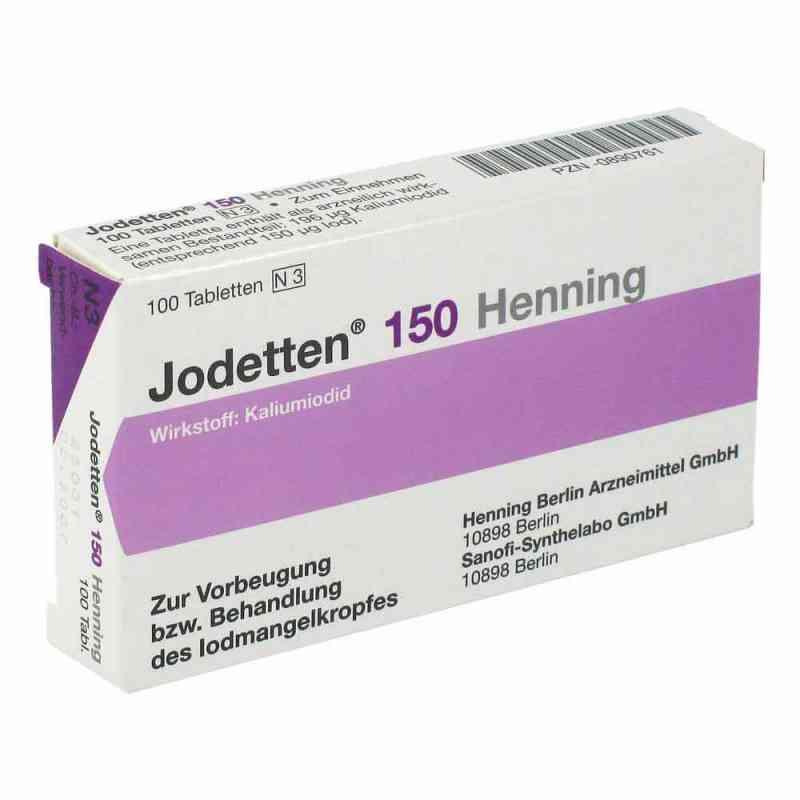 Jodetten 150 Henning 150 Mikrogramm  bei versandapo.de bestellen